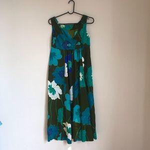 Vintage 60's Floral Dress